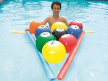 NEW Blow-Up Billiards Beach Balls Pool Toy Ball Game in Kingwood, Texas