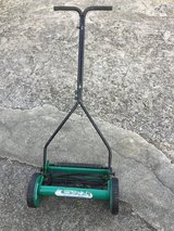 Push mower in Okinawa, Japan