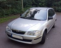 Mazda 323 low mileage, only one owner, new inspection in Ramstein, Germany
