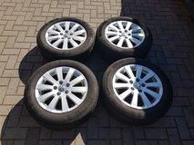 4 x VW summer tires Continental 215 55 R16  LIKE NEW!!! in Ramstein, Germany