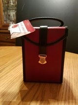 NWT! DePalma Bonded Leather Flip-Out Travel Jewelry Case in Glendale Heights, Illinois