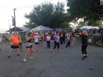 Zumba Gold Fitness Party in Cherry Point, North Carolina