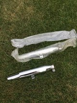 2 Harley Davidson chrome mufflers kit  great shape like new. in Naperville, Illinois