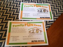 FAMILY FUN ZONE FAMILY 4 PACK in Lockport, Illinois