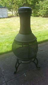 Cast Iron Chiminea in Ramstein, Germany