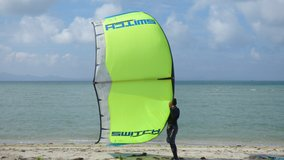 Learn kitesurf to day .  Free kitesurf lessons  if buy the kite? Board and bar  New equipment or... in Okinawa, Japan