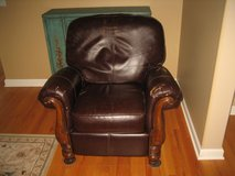 Used Leather Recliner Chair - Ashley in Batavia, Illinois