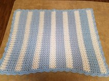NEW blue and white baby blanket in Fort Drum, New York