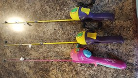KIDS FISHING POLES in Clarksville, Tennessee