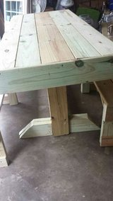 Newly Build Rustic Looking Table in Fort Rucker, Alabama