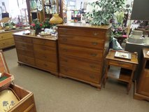 4 PIECE SOLID CHERRY  BEDROOM SET by  Thomasville in Cherry Point, North Carolina