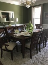 Dining room table in Fort Gordon, Georgia