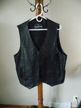 mens leather vest in Sandwich, Illinois