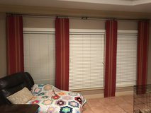 Curtains by Pottery Barn in Kingwood, Texas