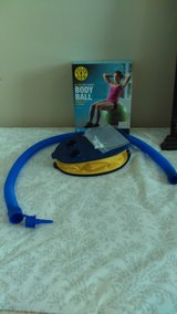 Golds Gym Body Ball and foot pump in Clarksville, Tennessee