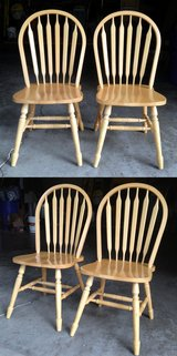 *** 2 Sturdy Wood chairs in Glendale Heights, Illinois