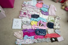 Baby Girl 3-6 month clothing lot in Warner Robins, Georgia