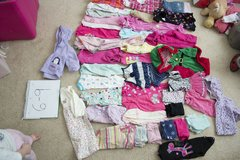 6-9 month baby girl clothing lot in Warner Robins, Georgia