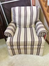 Smaller accent chair in Naperville, Illinois