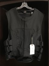 Icon Leather Vest - Brand New with Tags in San Bernardino, California