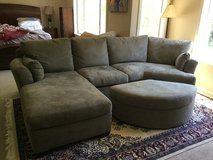 Broyhill Studio Sueded Sectional Couch in Fairfield, California