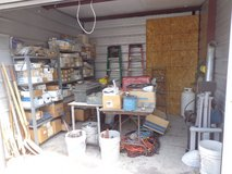 Storage Shed of Plumbing Supplies in Lockport, Illinois