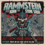 Rammstein, Korn, Stone Sour Jul 1st. in Yucca Valley, California