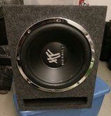 "HIFONICS 15"" Car Speaker Box With Crunch AMP 700 Watts in Ramstein, Germany"