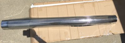 Chrome Heat Shield for Patriot Exhaust Side Tube Turnout Muffler in Fort Campbell, Kentucky
