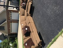 Sectional couch in DeKalb, Illinois