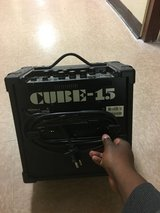 Roland CUBE -15 in Fort Irwin, California