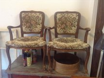 Two Antique chairs in Ramstein, Germany