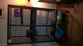 Critter Nation Double Cage in Naperville, Illinois