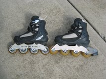 Ladies Size 8, Roller Blades in Black in Wheaton, Illinois