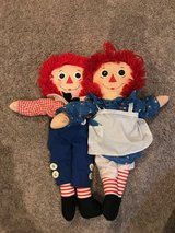Raggedy Ann and Andy in Batavia, Illinois