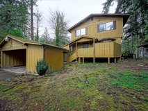 Home for Rent on the Nisqually River 13 miles from East Gate in Fort Lewis, Washington