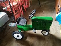 Vintage Green Machine METAL PEDAL tractor in Camp Lejeune, North Carolina