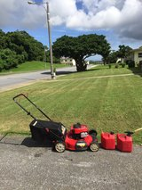 Troy-bilt 21 inch push gas lawn mower in Okinawa, Japan