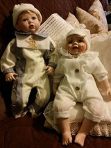Two Ashley Belle porcelain doll in Fort Bragg, North Carolina