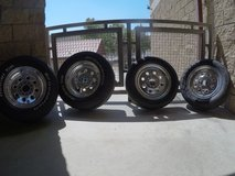 Weld Draglite Offset Tire and Rim Set in Camp Pendleton, California