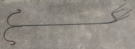 Double Shepherd's Hook (pole) for Bird Feeders in Conroe, Texas