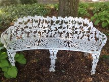 Wrought Iron Bench in Naperville, Illinois