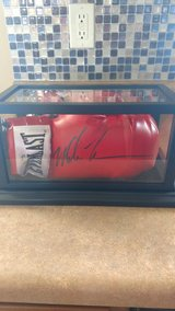 Mike Tyson signed boxing Glove with COA in St. Louis, Missouri