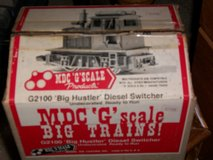"G Scale  Rare MDC "" Big Hustler"" Diesel Switcher New in Box Undecorated Ready to Run in Joliet, Illinois"