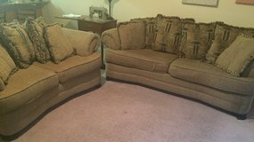 Couch, loves eat and chaise Living Room Set in Keesler AFB, Mississippi