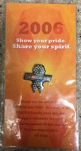 2006 NASCAR DAY PIN (STILL SEALED IN PACKAGE) in 29 Palms, California