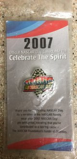 2007 NASCAR DAY PIN (STILL SEALED IN PACKAGE) in 29 Palms, California