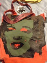"ANDY WORHOL ""MARILYN1967"" ART SIGNED COLLECTION CANVAS TOTE/PURSE in Travis AFB, California"
