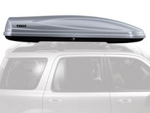 Thule Atlantis 2100 rooftop cargo box in Camp Pendleton, California