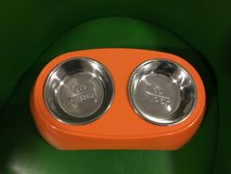 Small Pet Bowls - ORANGE in Okinawa, Japan